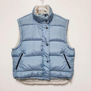 Woolrich Reversible Down Puffer Women's Vest XL